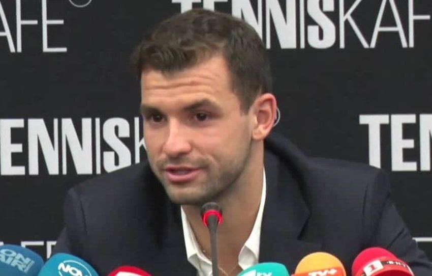 Гритор Димитров отказа участие в турнир в Австрия