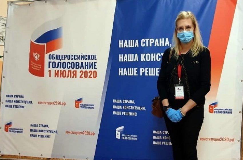 Любомира Ганчева пред медиите в Крим: При гласуването на промени в Конституцията, в Крим цари празнична атмосфера и хората отиват да направят своя избор с усмивка