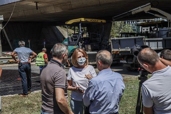 """Фандъкова: В събота започва ремонтът на нов участък от бул. """"България"""""""
