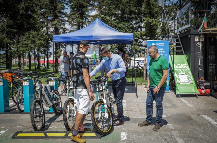 За трета година стартира услугата за наемане на електрически велосипеди до Витоша