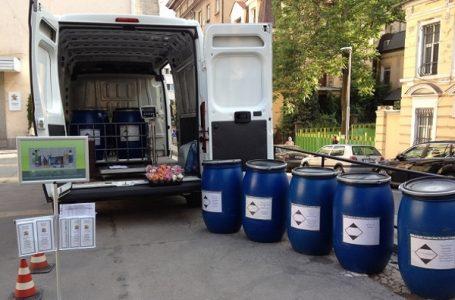На 10 юли 2020 се организира мобилен събирателен пункт за опасни отпадъци