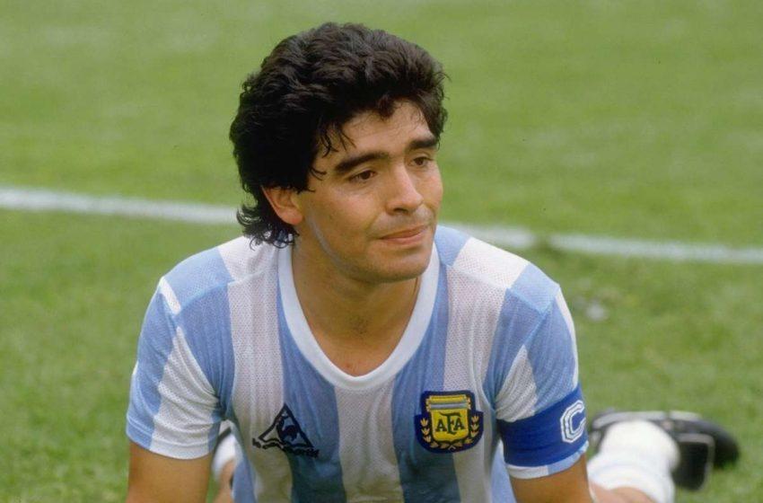 Отиде си Диего Марадона
